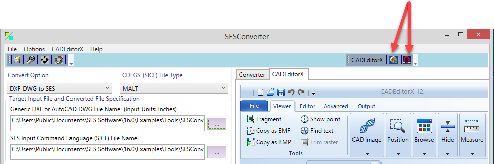SESConverter - SES (Safe Engineering Service & technologies